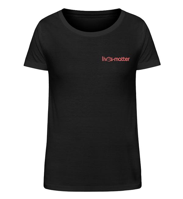 Lives Matter Logo - Damen Organic Shirt-16