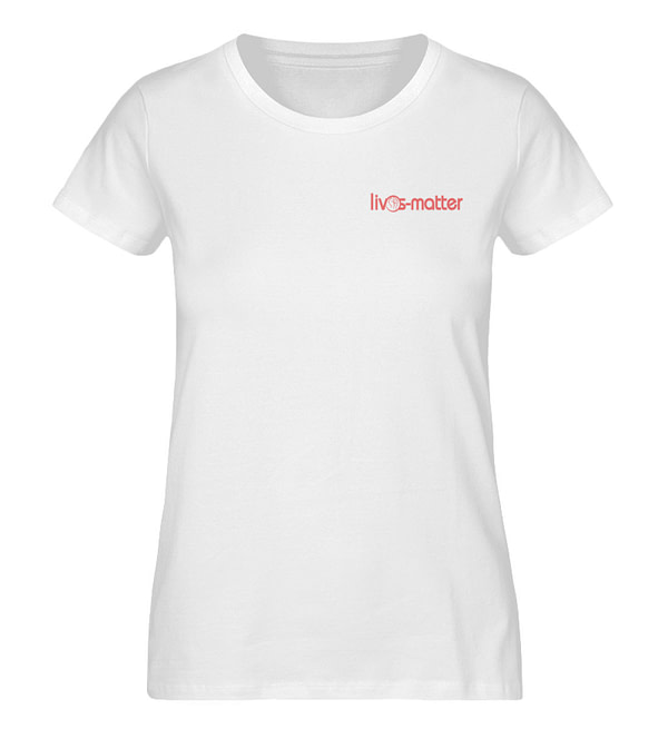Lives Matter Logo - Damen Premium Organic Shirt-3
