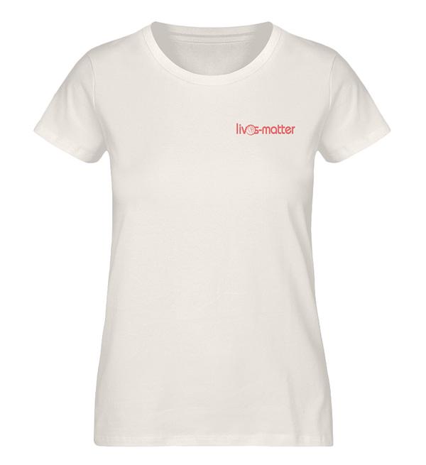 Lives Matter Logo - Damen Premium Organic Shirt-6881